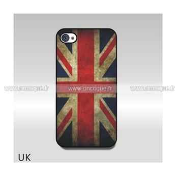 coque apple iphone 4 le drapeau du royaume uni etui cover mixtes. Black Bedroom Furniture Sets. Home Design Ideas