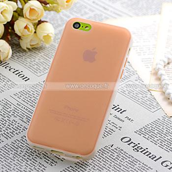 coque apple iphone 5c tpu silicone gel housse orange. Black Bedroom Furniture Sets. Home Design Ideas