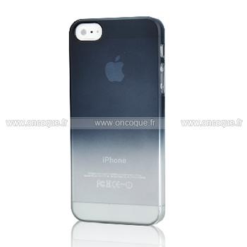 coque apple iphone 5s degrade etui rigide gris. Black Bedroom Furniture Sets. Home Design Ideas