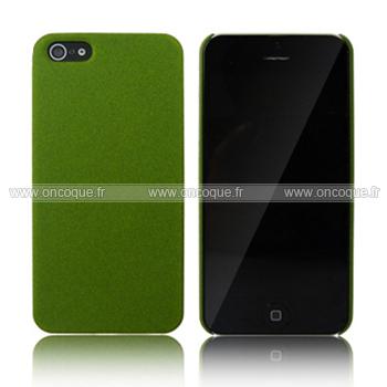 coque apple iphone 5s sables mouvants etui rigide verte. Black Bedroom Furniture Sets. Home Design Ideas
