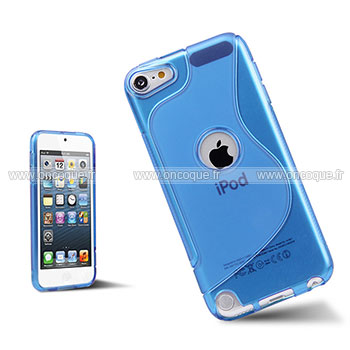 Coque apple ipod touch 5 s line silicone gel housse for Housse ipod classic