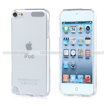coque apple ipod touch 5 silicone transparent housse blanche