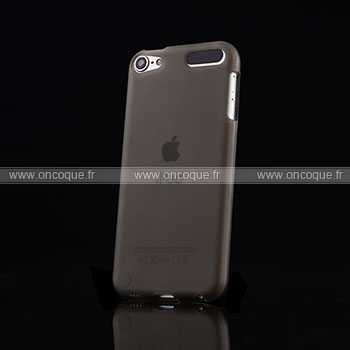 Coque apple ipod touch 5 silicone transparent housse gris for Housse ipod classic