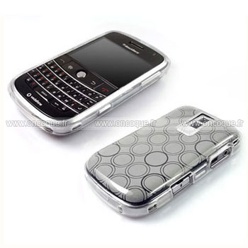 Coque blackberry bold 9000 cercle gel tpu housse blanche for Housse blackberry curve
