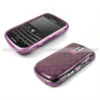 Housse Blackberry Curve Of Coque Blackberry Bold 9000 Cercle Gel Tpu Housse Pourpre