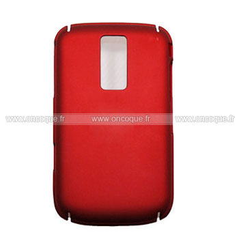 coque blackberry bold 9000 plastique etui rigide rouge. Black Bedroom Furniture Sets. Home Design Ideas