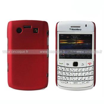 coque blackberry bold 9700 plastique etui rigide rouge. Black Bedroom Furniture Sets. Home Design Ideas