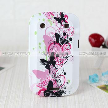 coque blackberry bold 9900 papillon silicone housse gel. Black Bedroom Furniture Sets. Home Design Ideas