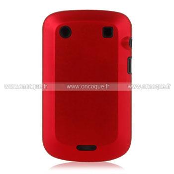 coque blackberry bold 9900 plastique etui rigide rouge. Black Bedroom Furniture Sets. Home Design Ideas