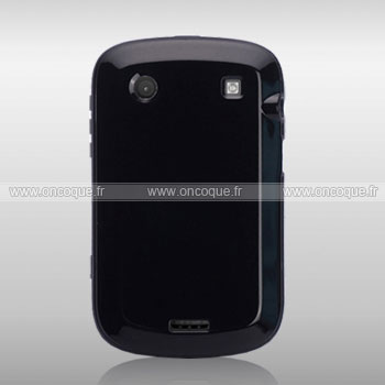 Coque blackberry bold 9900 silicone gel housse noire for Housse blackberry curve