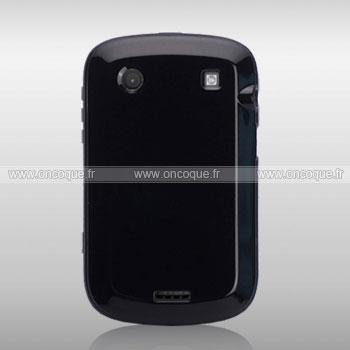 coque blackberry bold 9900 silicone gel housse noire. Black Bedroom Furniture Sets. Home Design Ideas