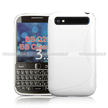 Coque blackberry classic q20 s line silicone gel housse for Housse blackberry curve