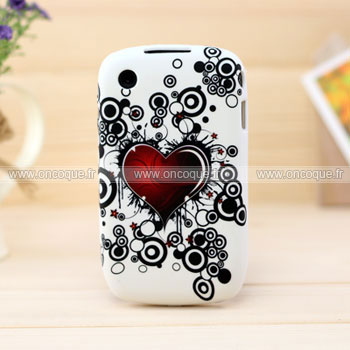 Coque blackberry curve 8520 amour silicone housse gel mixtes for Housse pour blackberry curve