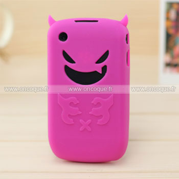 Coque blackberry curve 8520 demon silicone housse gel for Housse blackberry curve