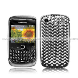 Coque blackberry curve 8520 diamant silicone gel housse for Housse blackberry curve 9300