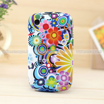 Coque blackberry curve 8520 fleurs silicone gel housse for Housse blackberry curve