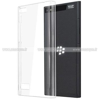 coque blackberry leap transparent plastique etui rigide. Black Bedroom Furniture Sets. Home Design Ideas