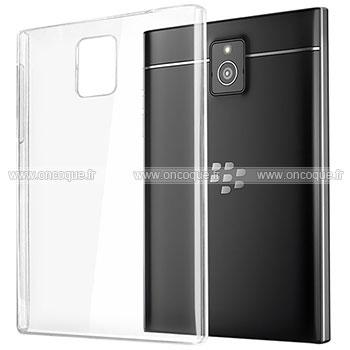 coque blackberry passport q30 transparent plastique etui. Black Bedroom Furniture Sets. Home Design Ideas