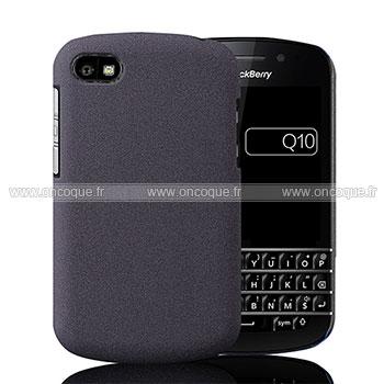 coque blackberry q10 sables mouvants etui rigide gris. Black Bedroom Furniture Sets. Home Design Ideas