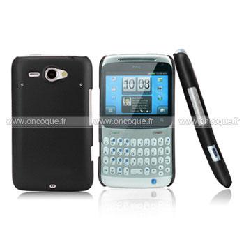 Coque HTC Chacha G16 A810e Plastique Etui Rigide - Noire