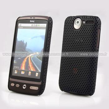 Coque HTC Desire Bravo G7 A8181 Filet Plastique Etui Rigide - Noire
