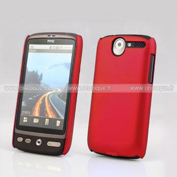 Coque HTC Desire Bravo G7 A8181 Plastique Etui Rigide - Rouge