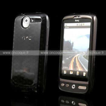 Coque HTC Desire Bravo G7 Diamant TPU Gel Housse - Gris