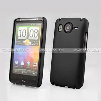 Coque HTC Desire HD G10 A9191 Plastique Etui Rigide - Noire