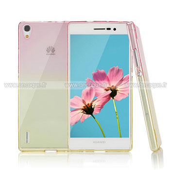 coque silicone huawei p7