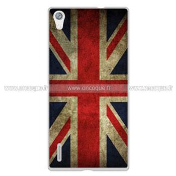 coque huawei ascend p7 le drapeau du royaume uni etui rigide mixtes. Black Bedroom Furniture Sets. Home Design Ideas