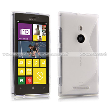 coque nokia lumia 1520 s line silicone gel housse clear