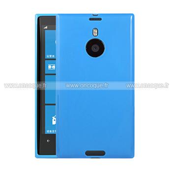 coque nokia lumia 1520 silicone gel housse bleu