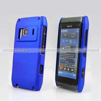 Coque nokia n8 plastique etui rigide bleu for Coque nokia n8
