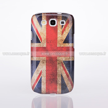 coque samsung galaxy s3 4g i9305 le drapeau du royaume uni etui rigide gris. Black Bedroom Furniture Sets. Home Design Ideas