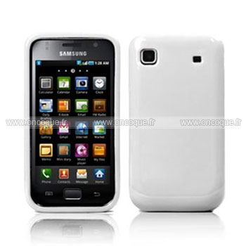 Coque samsung i9000 galaxy s silicone gel housse blanche for Housse blackberry q10