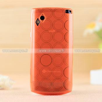 Coque samsung s8500 wave cercle gel tpu housse orange for Housse samsung wave