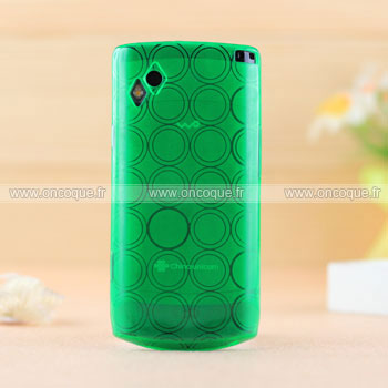 Coque samsung s8500 wave cercle gel tpu housse verte for Housse samsung wave