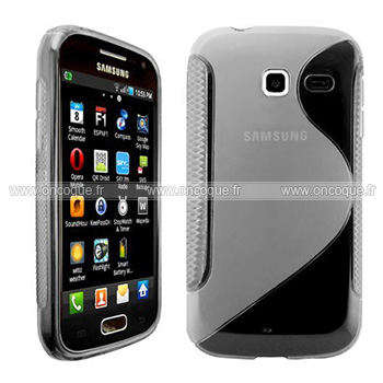 Coque samsung wave y s5380 s line silicone gel housse for Housse samsung wave