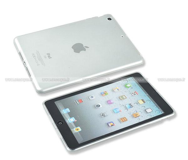 coque apple ipad mini silicone transparent housse clear. Black Bedroom Furniture Sets. Home Design Ideas