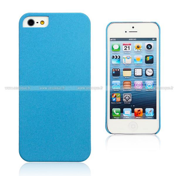 coque apple iphone 5s sables mouvants etui rigide bleue ciel. Black Bedroom Furniture Sets. Home Design Ideas