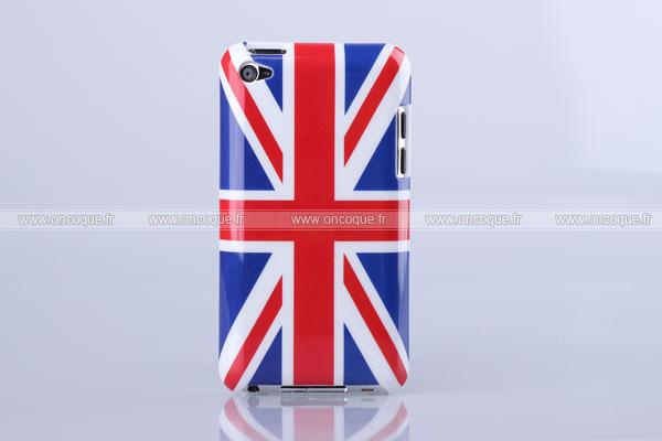 coque apple ipod touch 4 le drapeau du royaume uni etui rigide mixtes. Black Bedroom Furniture Sets. Home Design Ideas