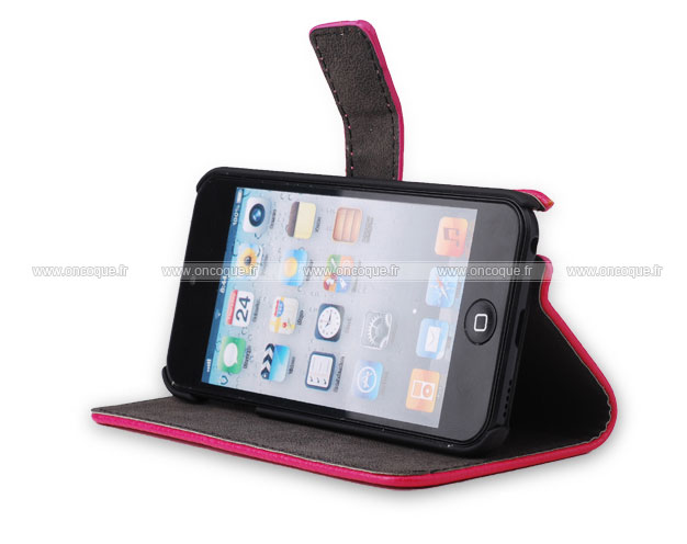 coque apple ipod touch 5 etui en cuir housse cover chaud
