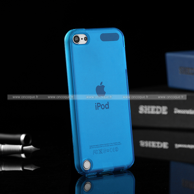 coque apple ipod touch 5 silicone transparent housse