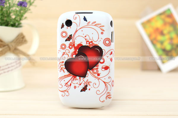 Coque blackberry curve 8520 amour silicone housse gel rouge for Housse blackberry curve