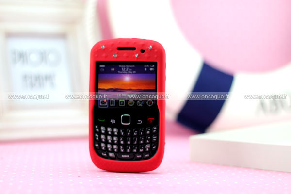 Coque blackberry curve 8520 diamant bling silicone housse for Housse blackberry curve