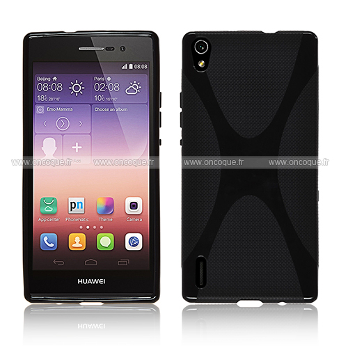 coque huawei ascend p7 x style silicone gel housse