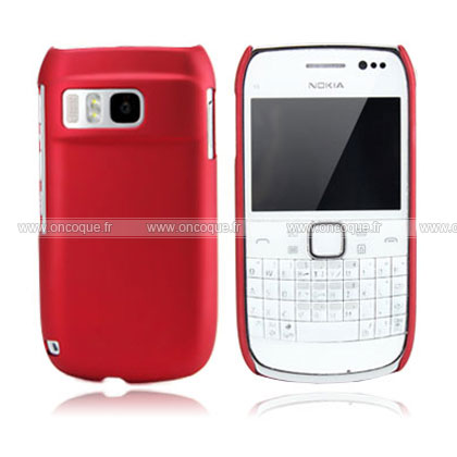 coque nokia e6 plastique etui rigide rouge. Black Bedroom Furniture Sets. Home Design Ideas
