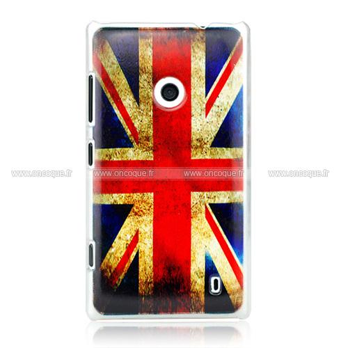 coque nokia lumia 520 le drapeau du royaume uni etui rigide mixtes. Black Bedroom Furniture Sets. Home Design Ideas