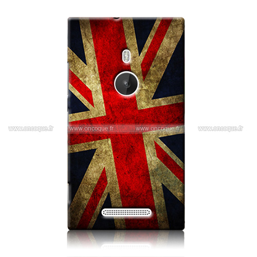 coque nokia lumia 925 le drapeau du royaume uni etui rigide mixtes. Black Bedroom Furniture Sets. Home Design Ideas