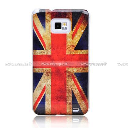 coque samsung galaxy s2 plus i9105 le drapeau du royaume uni etui rigide mixtes. Black Bedroom Furniture Sets. Home Design Ideas